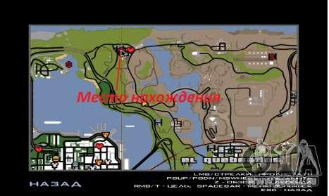 Nouvelle maison de Sijia dans El Quebrados v1.0 pour GTA San Andreas quatrième écran