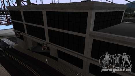 De nouvelles textures SFPD pour GTA San Andreas troisième écran