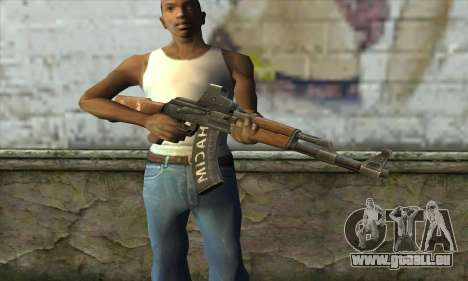 Point Blank AK47 Elite für GTA San Andreas dritten Screenshot