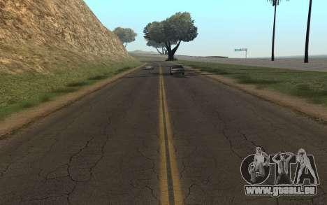 RoSA Project v1.3 Countryside pour GTA San Andreas deuxième écran