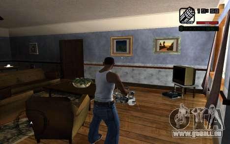 C-HUD by Smoke für GTA San Andreas zweiten Screenshot