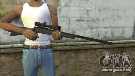 M40A1 Sniper Rifle für GTA San Andreas dritten Screenshot