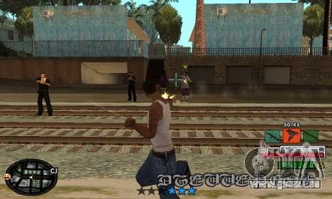 C-HUD Rainbow für GTA San Andreas dritten Screenshot