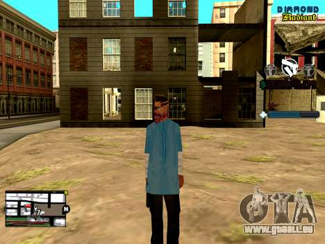 C-HUD Unity pour GTA San Andreas