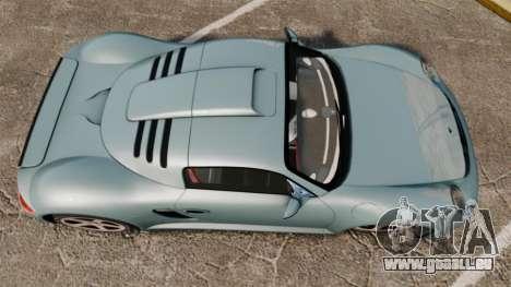 Ruf CTR3 für GTA 4 rechte Ansicht