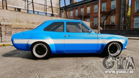 Ford Escort MK1 FnF Edition für GTA 4 linke Ansicht