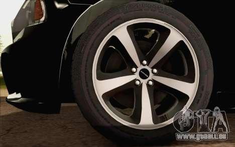 Dodge Charger SRT8 2006 pour GTA San Andreas sur la vue arrière gauche