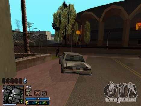 C-HUD By Stafford für GTA San Andreas achten Screenshot