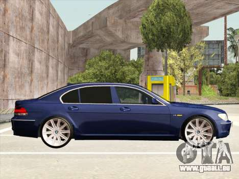 BMW 760Li für GTA San Andreas Innenansicht