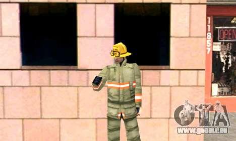 Realistische Feuerwehr-station in Los Santos für GTA San Andreas her Screenshot