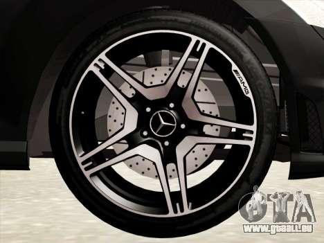 Mercedes-Benz S65 AMG pour GTA San Andreas vue de dessous