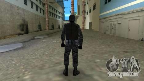 Kämpfer der Russischen Spetsnaz von CS:CZ für GTA Vice City zweiten Screenshot