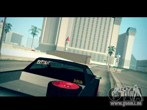 Elegy P1kachuxa Private für GTA San Andreas linke Ansicht