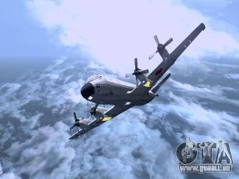 Lockheed P-3 Orion FAJ pour GTA San Andreas laissé vue