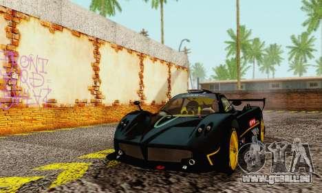 Pagani Zonda Type R Black pour GTA San Andreas