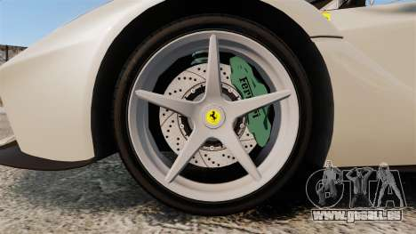 Ferrari LaFerrari Spider v2.0 für GTA 4 Rückansicht