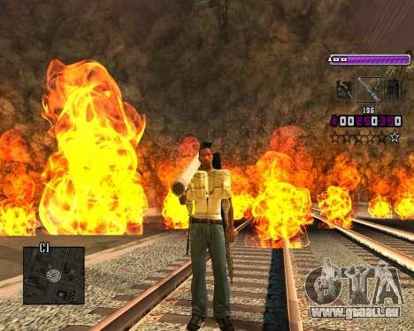 C-HUD Lite v3.0 pour GTA San Andreas