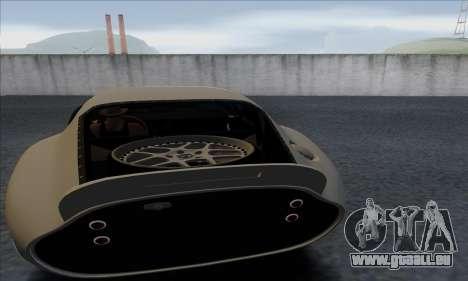 Shelby Cobra Daytona pour GTA San Andreas vue arrière