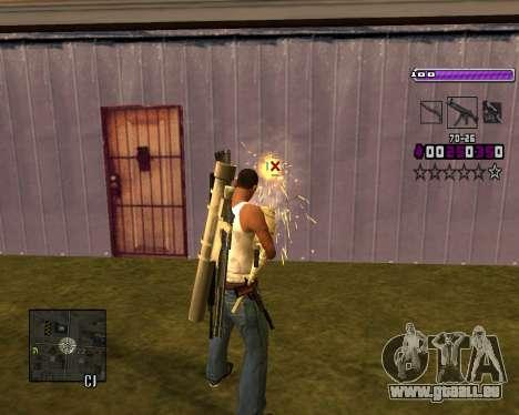 C-HUD Lite v3.0 pour GTA San Andreas septième écran