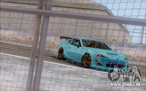 Scion FR-S 2013 Beam pour GTA San Andreas vue de côté