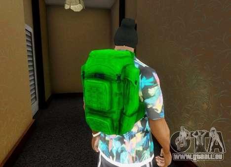Sac à dos à partir de l'État de Délabrement pour GTA San Andreas cinquième écran