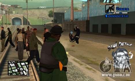 C-HUD Tawi Detka pour GTA San Andreas quatrième écran