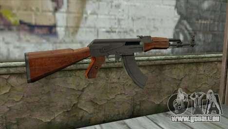 AK-47 Assault Rifle für GTA San Andreas zweiten Screenshot