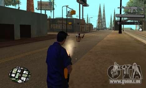 C-HUD Smoke pour GTA San Andreas troisième écran