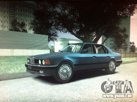 BMW 735iL e32 pour GTA 4