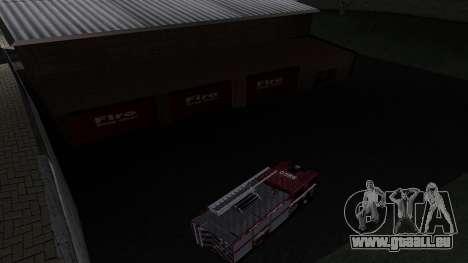 Updated San Fierro Fire Dept für GTA San Andreas dritten Screenshot