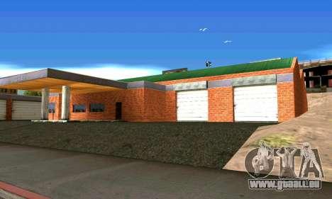 Neue garage in San Fierro für GTA San Andreas zweiten Screenshot