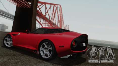 Alfa Romeo Zagato TZ3 2012 für GTA San Andreas rechten Ansicht