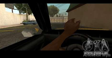 Réaliste de pilotage pour GTA San Andreas deuxième écran