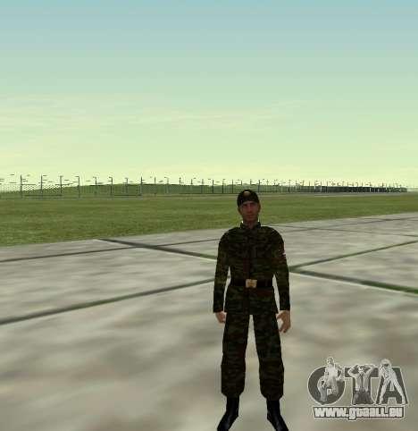Combattant de l'Armée russe v 2.0 pour GTA San Andreas