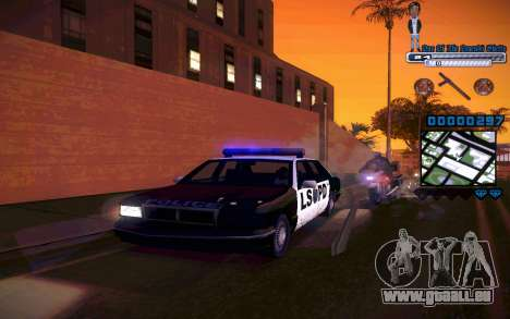 C-HUD One Of The Legends Ghetto pour GTA San Andreas