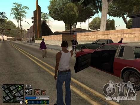 C-HUD By Stafford für GTA San Andreas fünften Screenshot