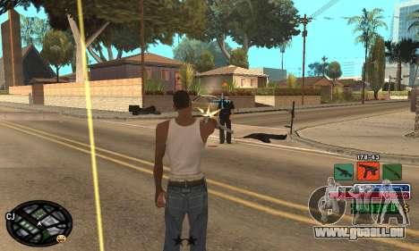 C-HUD Rainbow pour GTA San Andreas sixième écran