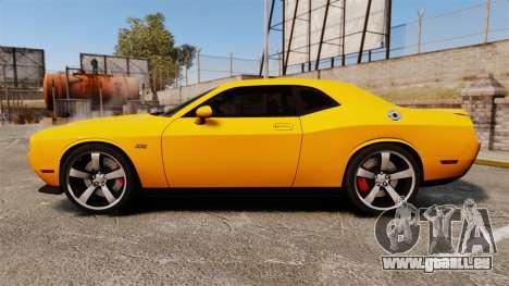 Dodge Challenger SRT8 2012 pour GTA 4 est une gauche