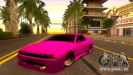 Elegy New Drifter v2.0 für GTA San Andreas