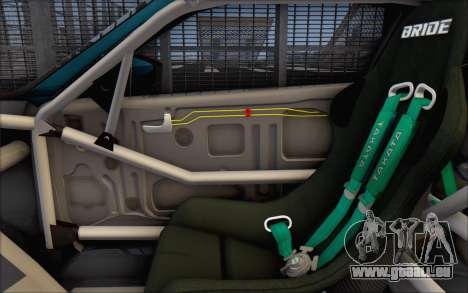 Scion FR-S 2013 Beam für GTA San Andreas Innen