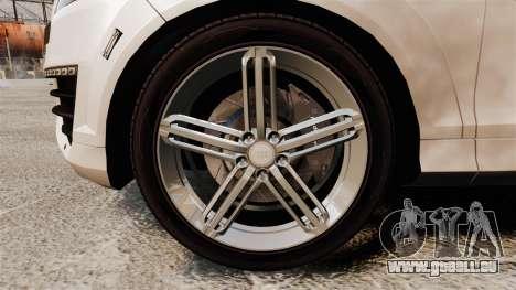 Audi Q7 FCK PLC [ELS] pour GTA 4 Vue arrière