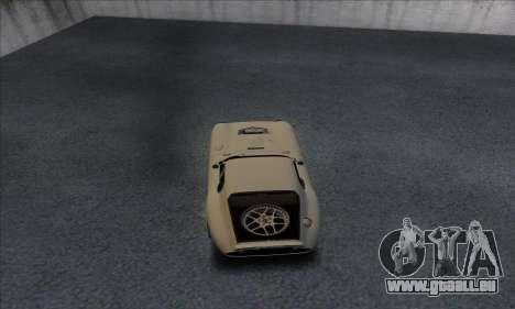 Shelby Cobra Daytona für GTA San Andreas rechten Ansicht