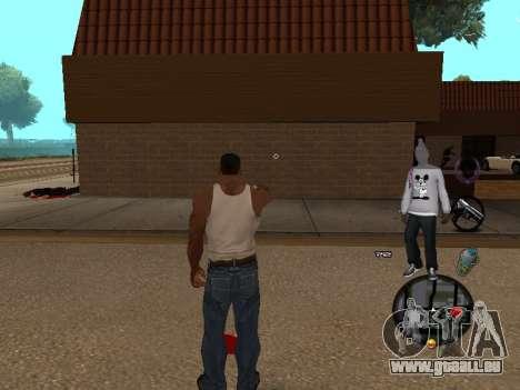 C-HUD Ballas pour GTA San Andreas deuxième écran