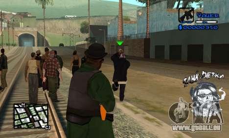 C-HUD Tawi Detka pour GTA San Andreas troisième écran