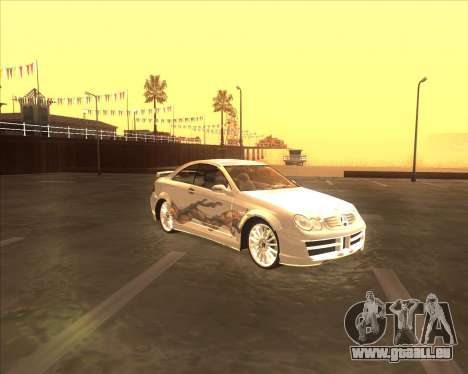 Mercedes CLK 500 из NFS Most Wanted für GTA San Andreas