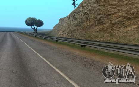 RoSA Project v1.3 Countryside pour GTA San Andreas troisième écran