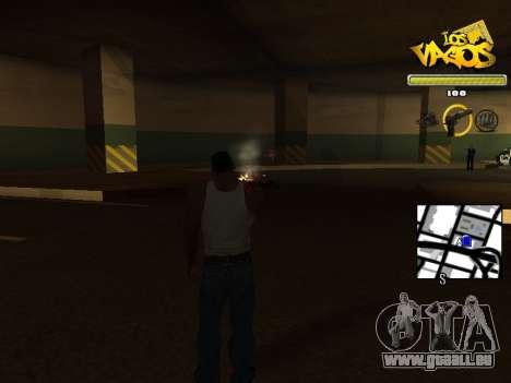 Vagos Gang HUD für GTA San Andreas dritten Screenshot