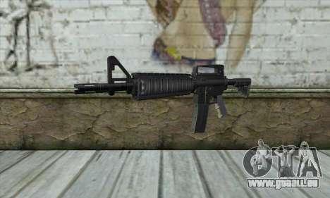 M4A1 pour GTA San Andreas