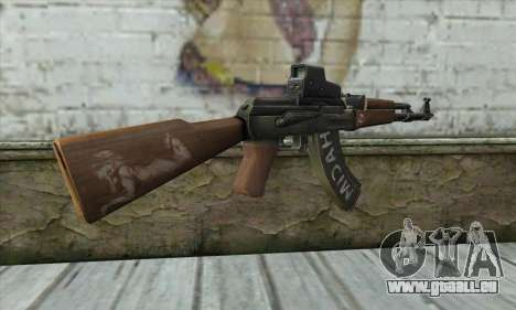 Point Blank AK47 Elite für GTA San Andreas zweiten Screenshot