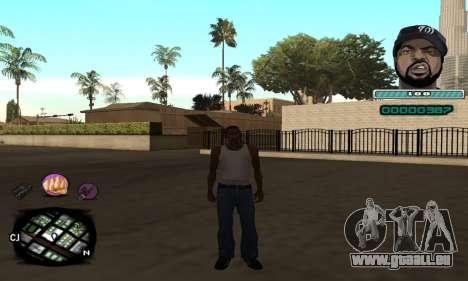 C-HUD Ice Cube pour GTA San Andreas